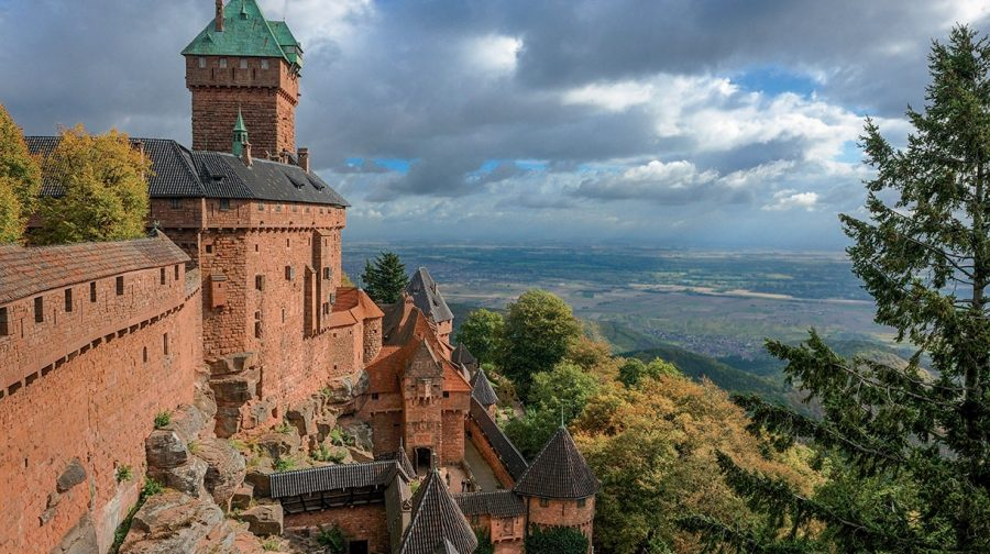 L'Alsace et les châteaux forts